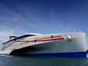 Condor Liberation will be operating 22 days trips from Guernsey to Jersey this summer, but only six give more than five hours ashore. (Picture by Peter Frankland, 26835125)