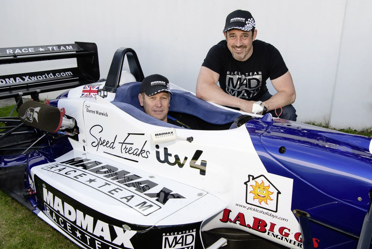 Guernsey racing driver Darren Warwick has been sponsored Zef Eisenberg to compete in the FIA European Hill Climb meetings this season under the Madmax Race Team banner. (Picture by Andrew Le Poidevin, 25499312)