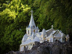 Picture by Peter Frankland. 01-06-20 The Little Chapel will be re-opening on Wednesday 3rd June.. (28344475)