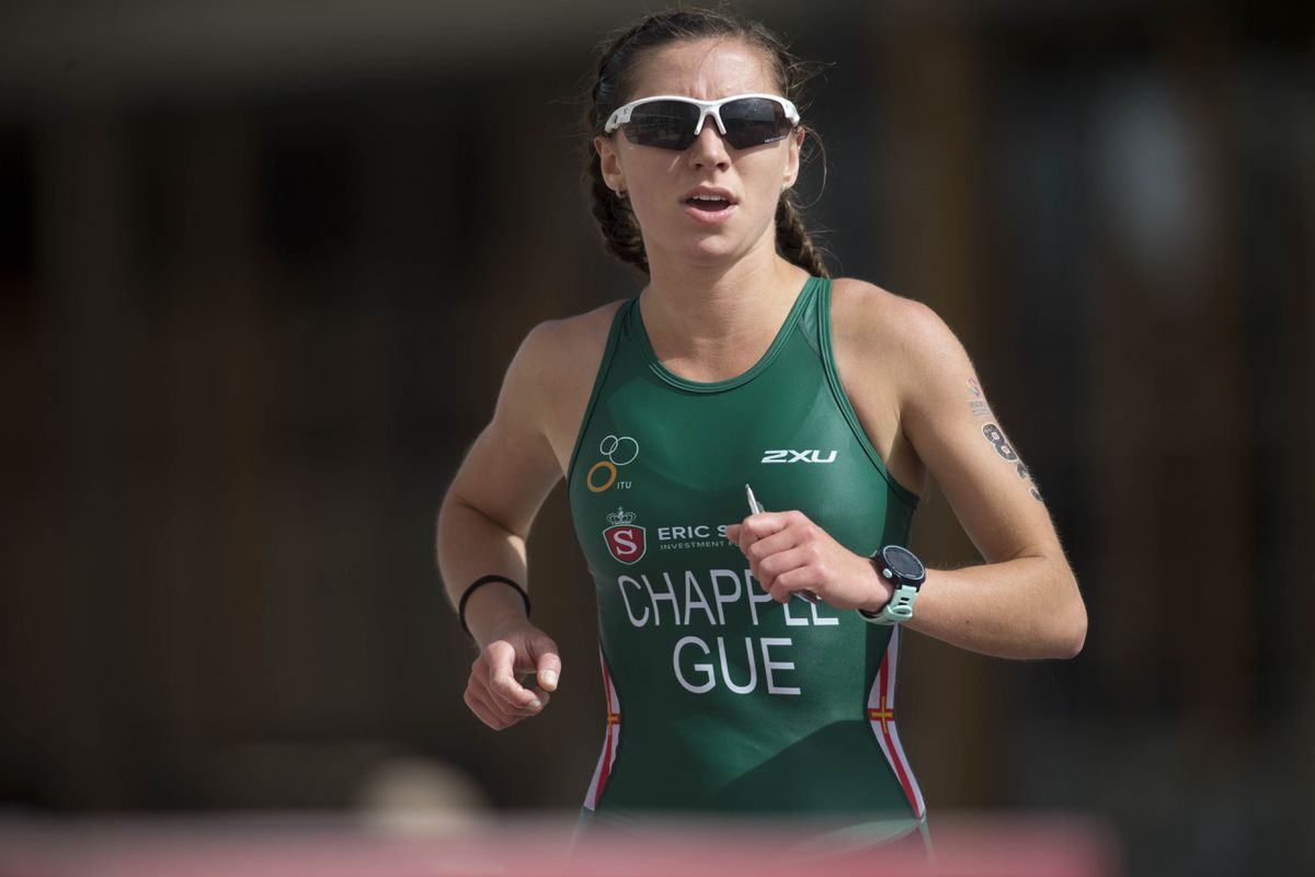 Megan Chapple finished second in the 25-29 age category and eighth woman overall at the London Triathlon. (Picture by Peter Frankland, 29879043)